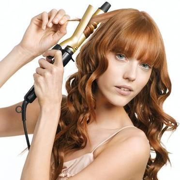 Щипцы для волос помогут в формировании локонов
