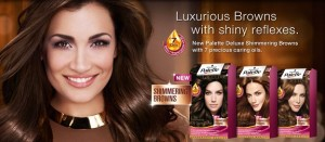 Schwarzkopf Palette Deluxe – это 6 благородных оттенков с пометкой «browns», в том числе и краска для волос золотистый каштан