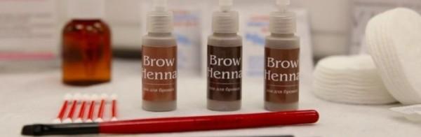 Сегодня в магазинах можно купить хну, предназначенную специально для бровей