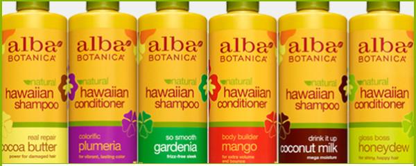 Серия продуктов AlbaBotanica