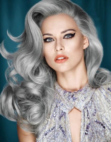 Серый цвет сделает образ элегантным и более «дорогим»