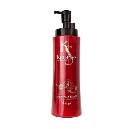 Шампунь «Oriental Premium» производства торгового дома Kerasys из Кореи отлично стимулирует рост и восстанавливает поврежденные волосы, рекомендован тем, кто вынужден часто прибегать к процедурам сушки и укладки.