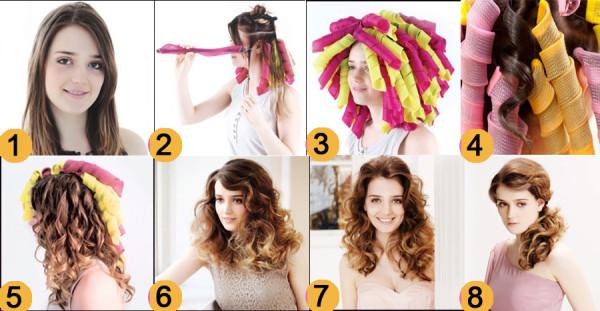 Схемы накрутки волос на бигуди Magic leverag