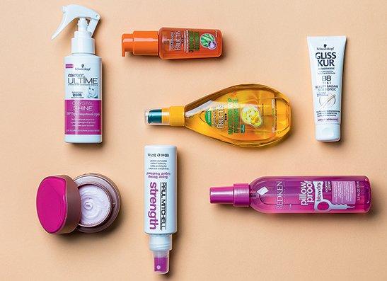 Современные косметические продукты помогут сохранить локоны блестящими и здоровыми!