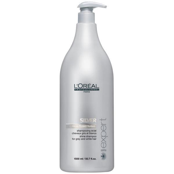 Специальные шампуни и бальзамы не только поддерживают серый цвет, но питают волосы полезными компонентами