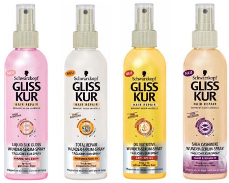Спреи GlissKur зарекомендовали себя как качественный продукт