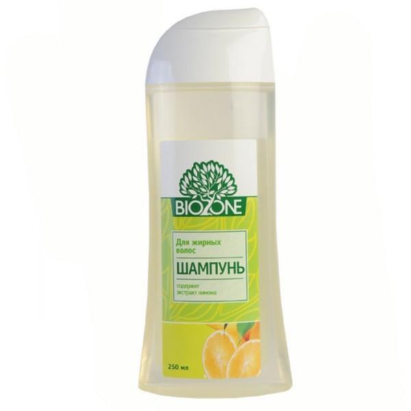Средство с натуральными растительными веществами и уточнением «Для жирных волос» обогатим эфиром.