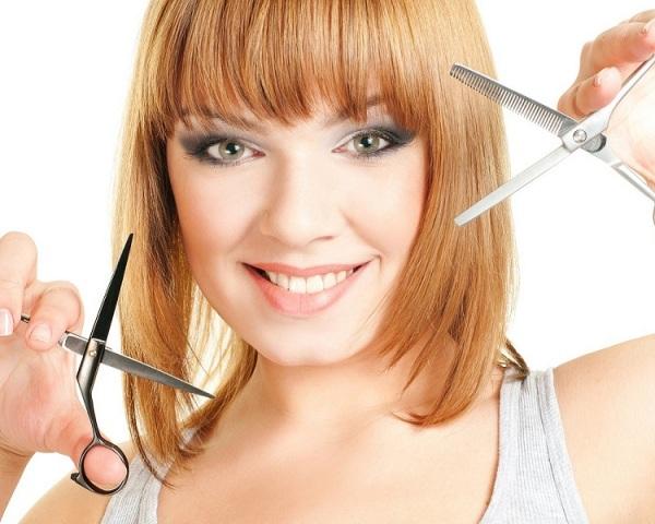 Стрижка будет роскошной, если проводить её качественными ножницами