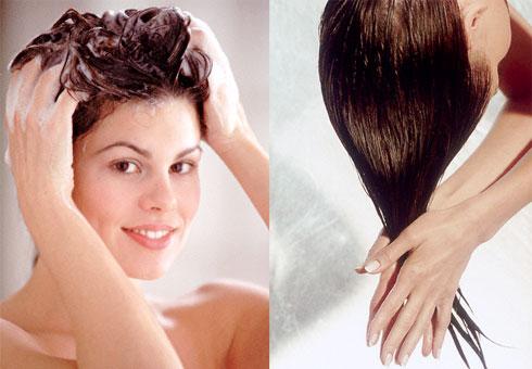 Существуют определенные правила мытья головы мылом