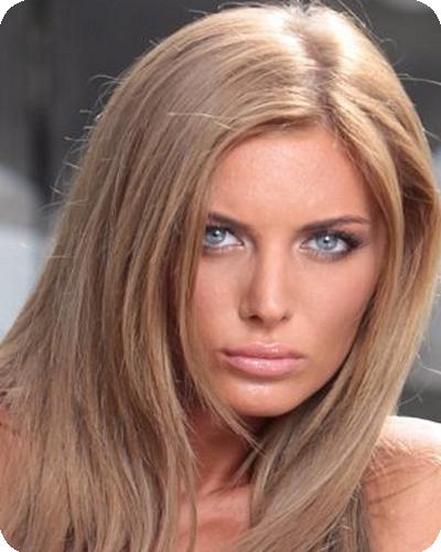 Светлая кожа и голубые глаза – идеальная внешность для блондинистых оттенков