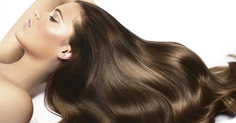 Такие волосы, как на фото – результат ответственного отношения к своему здоровью