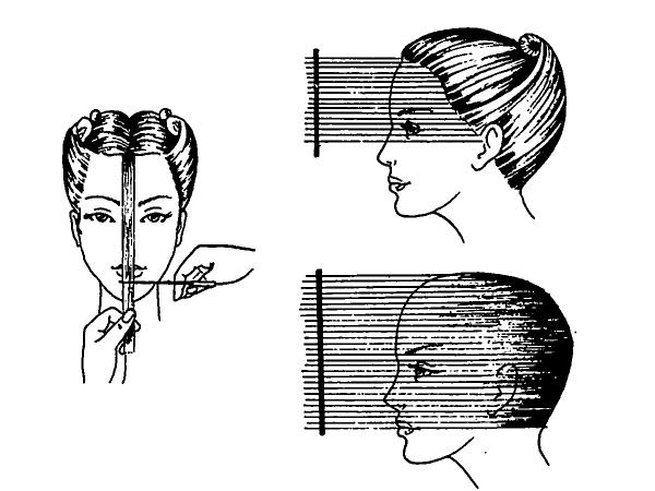 Техника стрижки «каскад»
