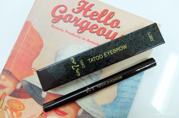 Tony Moly 7Days Tatoo Eyebrow – маркер для бровей с эффектом татуажа