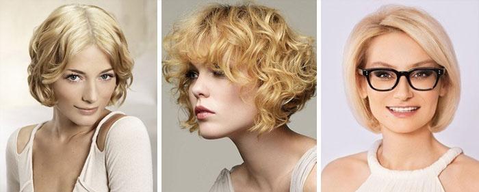 Три стиля одной и той же стрижки