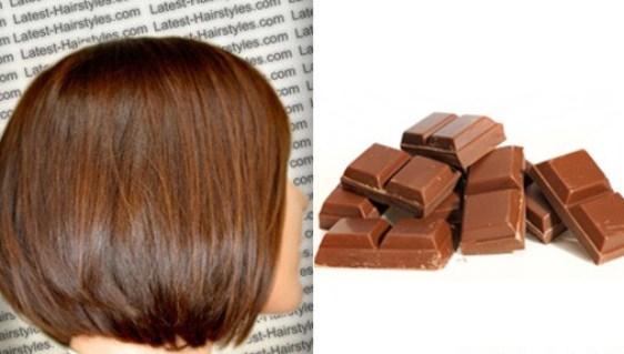 шоколадные краски для волос