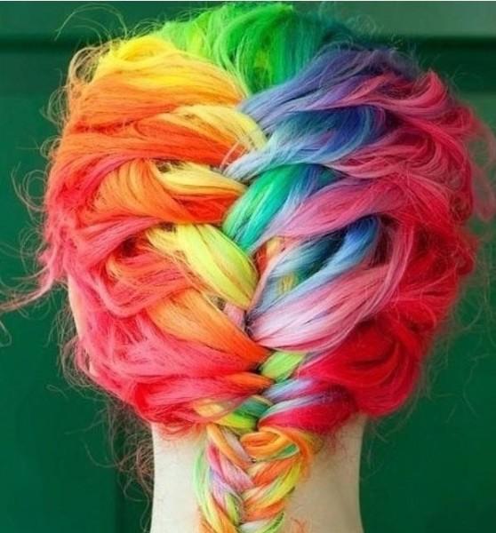 Цветная коса