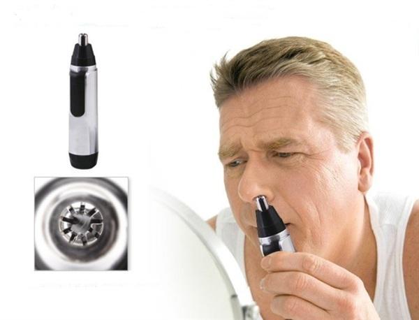 Удаление растительности из носа: благодаря триммеру процедура безболезненна и эффективна