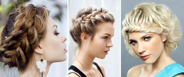 Укладки с косами придают женственности и праздничности образу, потому большинство девушек отдают им предпочтение для вечерних выходов