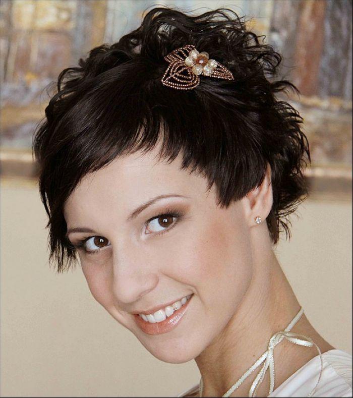Украшения для коротких волос 98