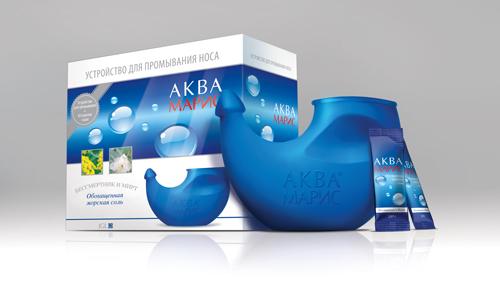 Устройство для промывания носа Аквамарис