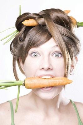 В этом овоще содержится много витамина А, который обеспечивает питание кожи головы