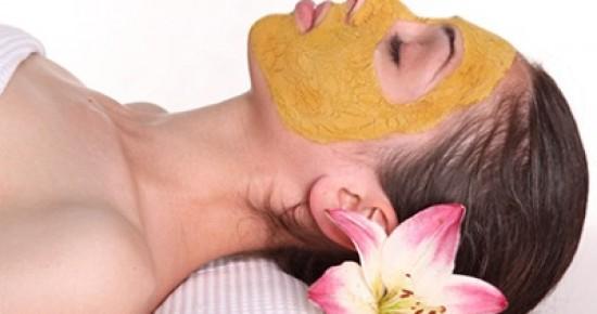 В некоторых SPA салонах практикуют маски, в состав которых входит куркума