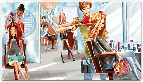 В салонах мастерами применяется фен-щетка для укладки коротких волос, а также насадка для моделирования причесок из длинных локонов.