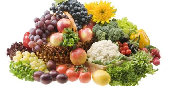 Важно употреблять в пищу много овощей и фруктов