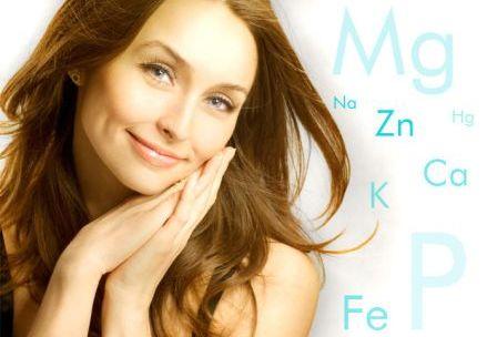 Важным для роста волос является поступление витаминов и микроэлементов