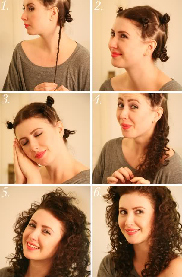 Как быстро сделать волнистые волосы в домашних условиях 89