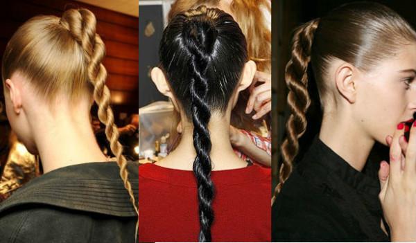Вот уже почти 6 лет коса со жгутами является одной из самых модных причесок