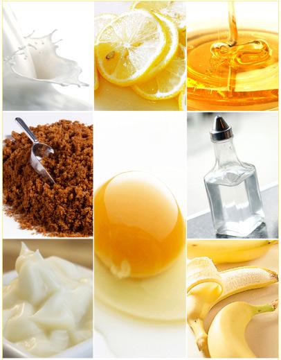 Вымыть волосы яйцом можно с добавлением фруктовых и овощных компонентов, тем самым насытив локоны витаминами