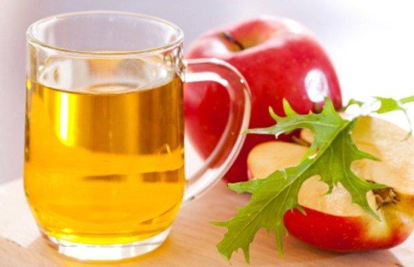 Яблочный уксус поможет победить перхоть