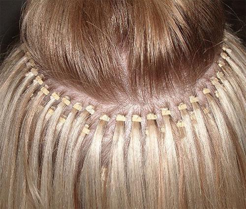 Железные скобы очень вредны для волос